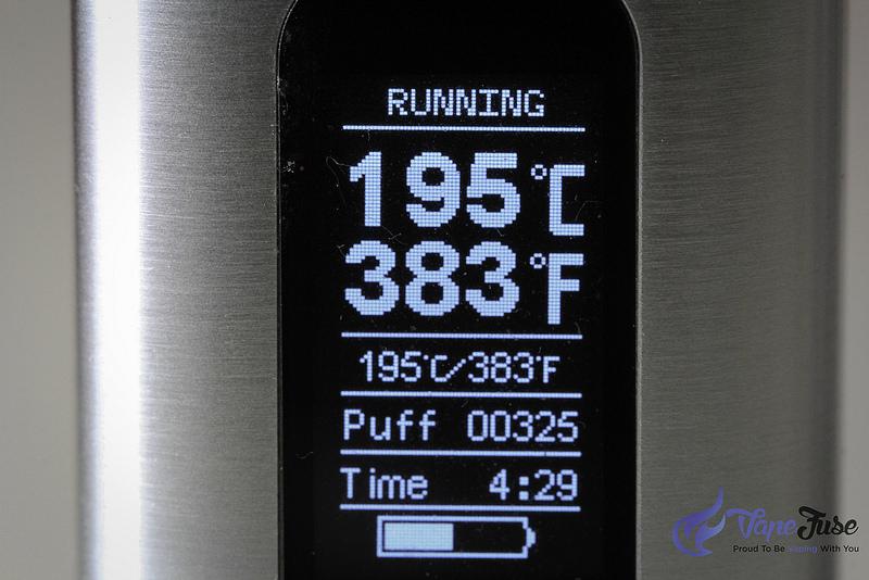 Digital Display Wow Portable Vaporizer