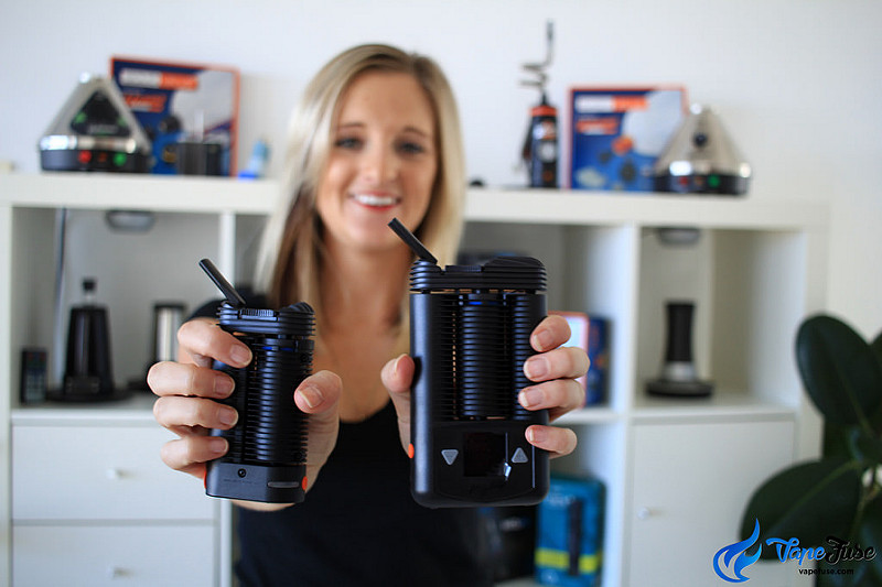 Storz & Bickel Crafty and Mighty Portable Vape Comparison