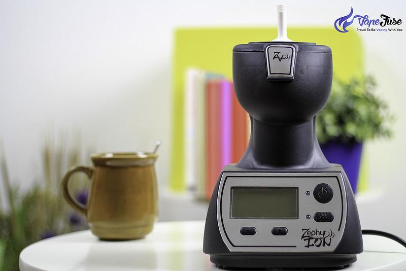 Zephyr Ion desktop vaporizer