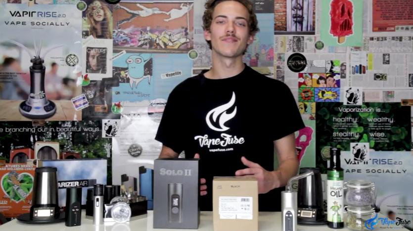 First Impression on the Arizer Solo II Portable Vaporizer by Matt at VapeFuse