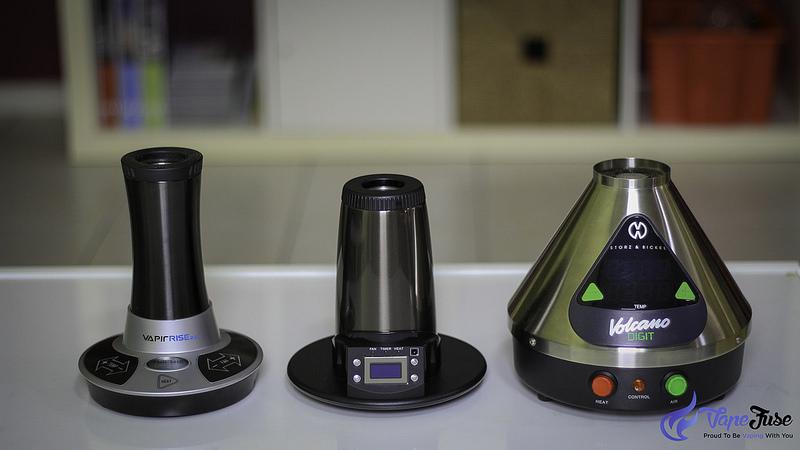 Desktop Vaporizers ( NO2, Extreme Q and Volcano)