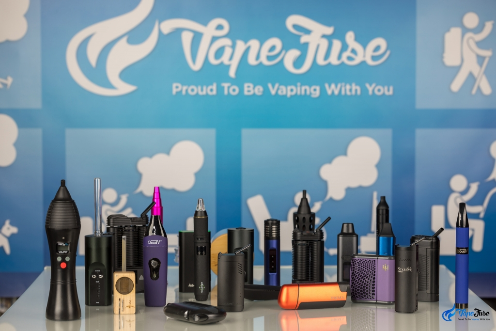 Portable vapes in the VapeFuse online store