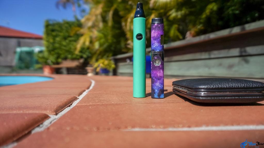 CloudV Phantom Mini and Cloud Platinum discreet portable vaporizers