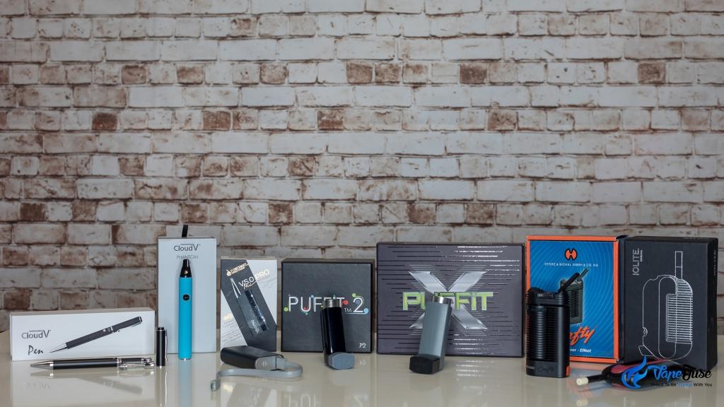 discreet portable vaporizer range