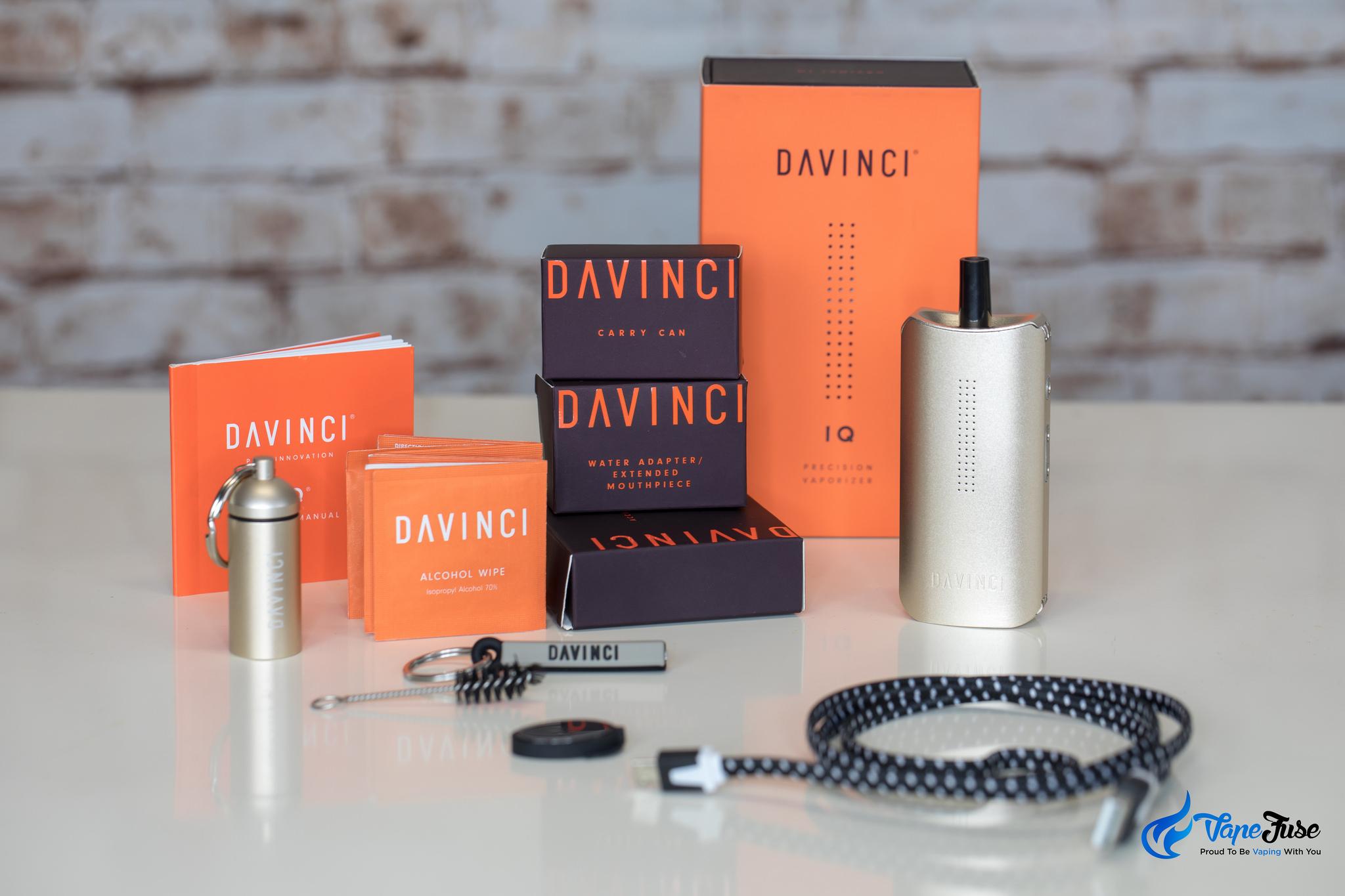 DaVinci IQ Portable Vaporizer Review