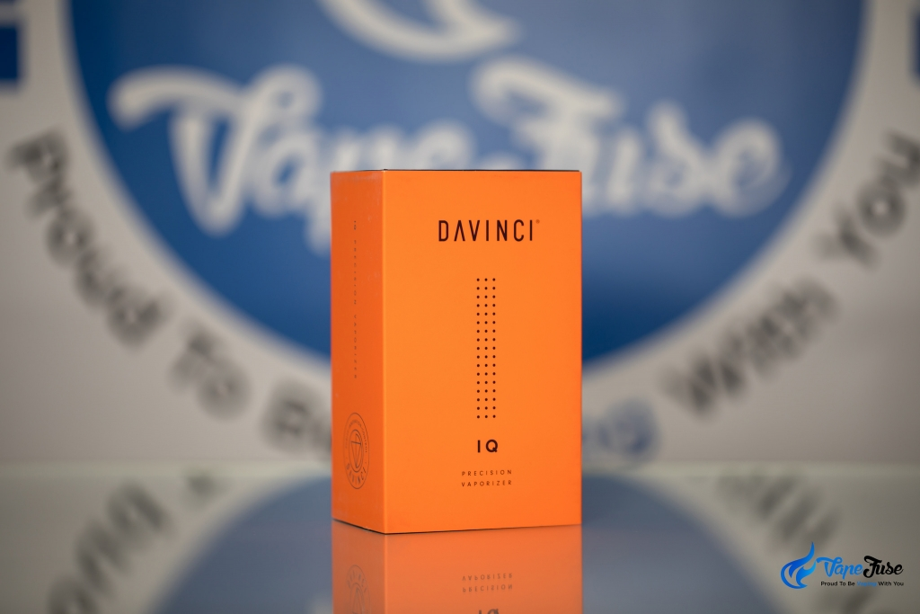 DaVinci IQ Vaporizer box