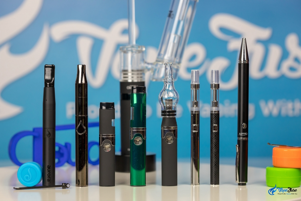 range of wax and oil vaporizers