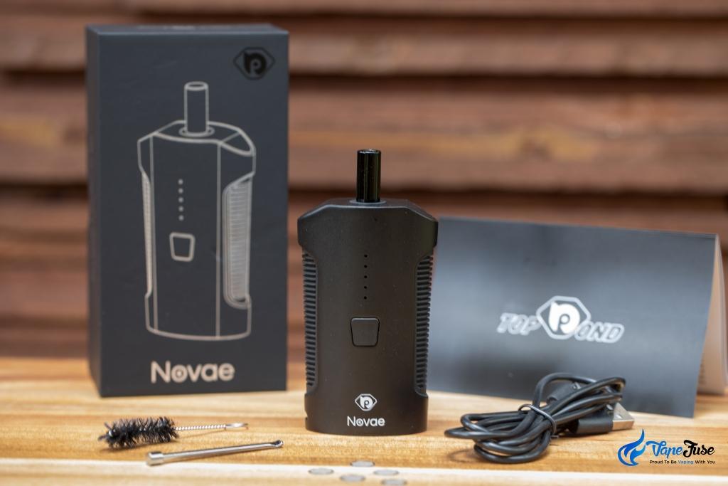 TopBond Novae Portable Vaporizer inclusions
