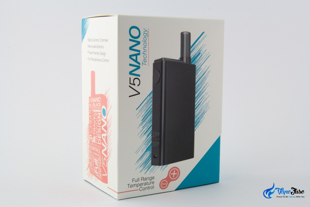 Flowermate V5 Nano Portable Vape - box