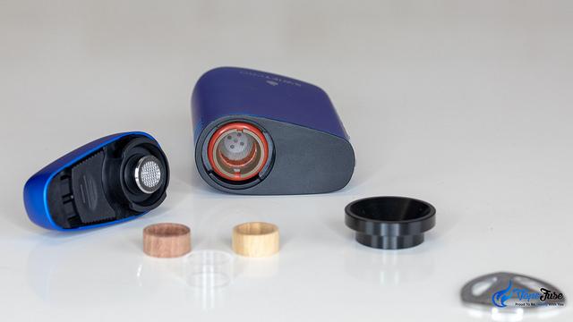 Flowermate Swift Pro Portable Vaporizer - chambers