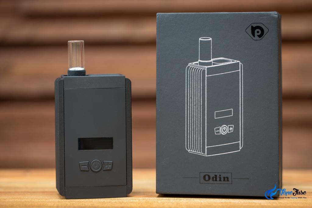 TopBond Odin Portable Vaporizer and its box