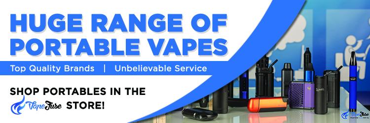 Huge range of portable vapes at VapeFuse