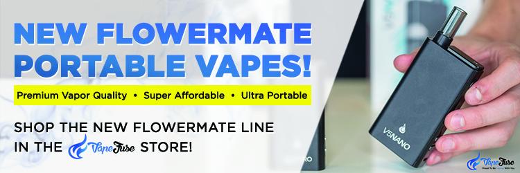 Flowermate V5 Nano Portable Vape CTA banner