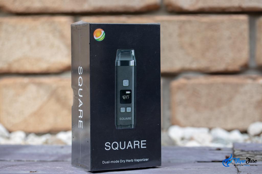 Square Dual Mode Digital Portable Vaporizer -Box