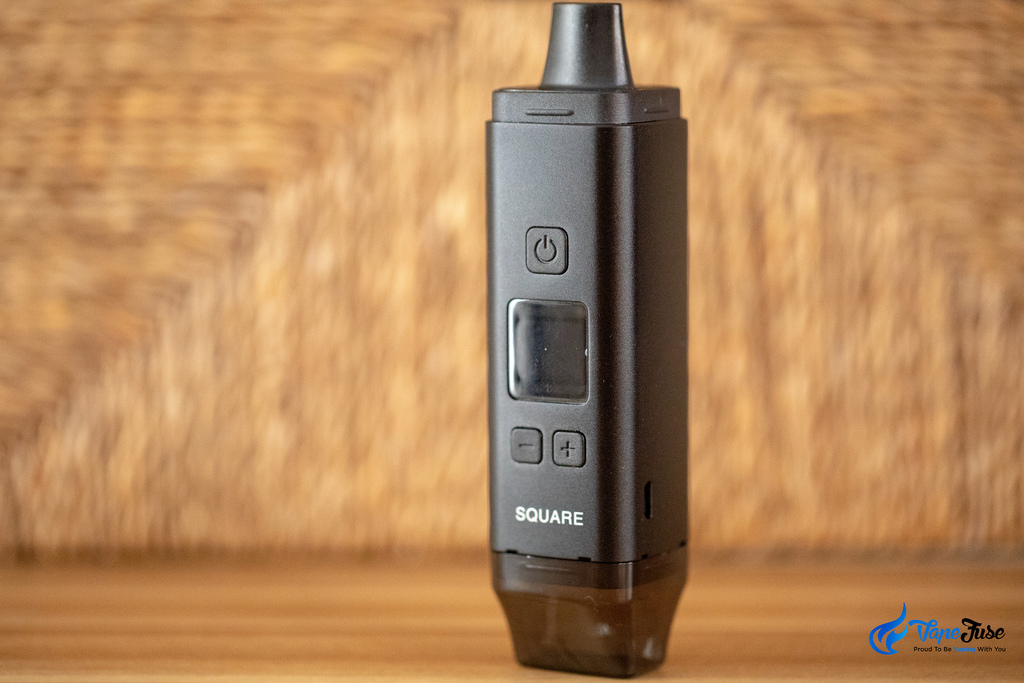 Square Dual Mode Digital Portable Vaporizer