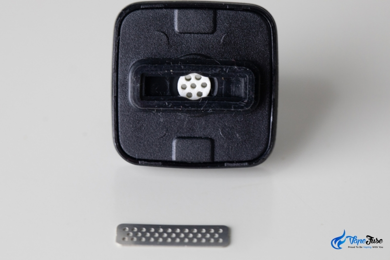 Square Dual Mode Digital Portable Vaporizer- Ceramic Filter