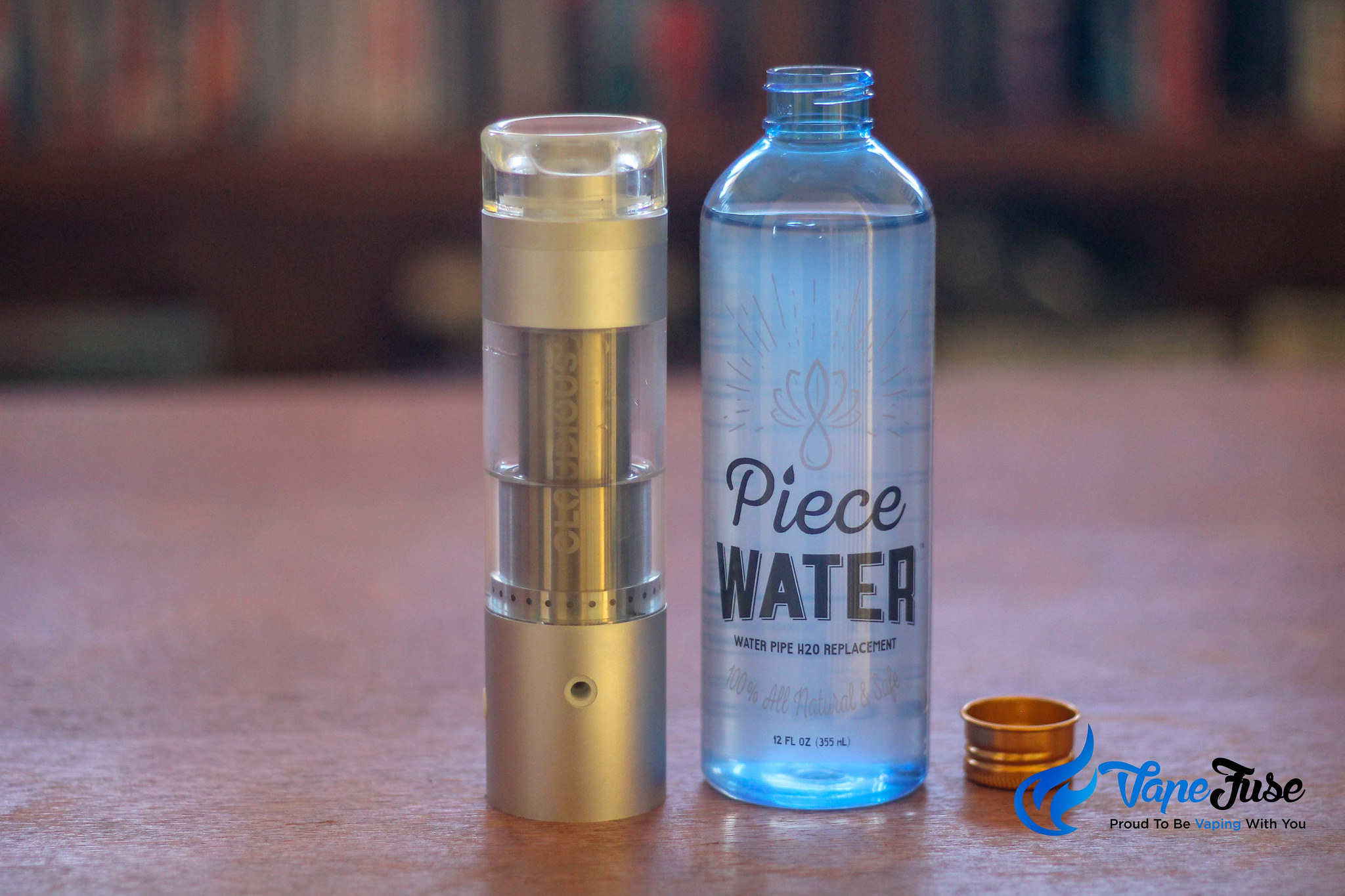 New Product Drop: Piece Water All Natural Bong Water Alternative
