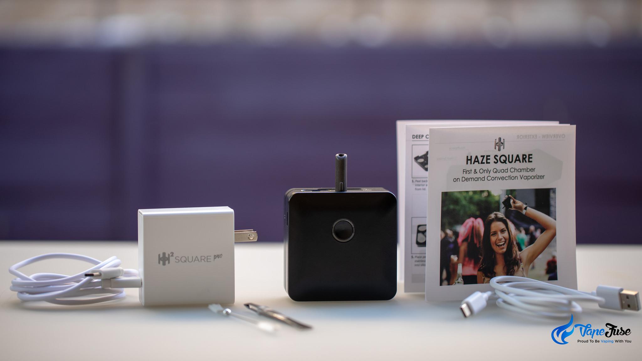 Haze Square Pro Portable Vaporizer: VapeFuse First Look