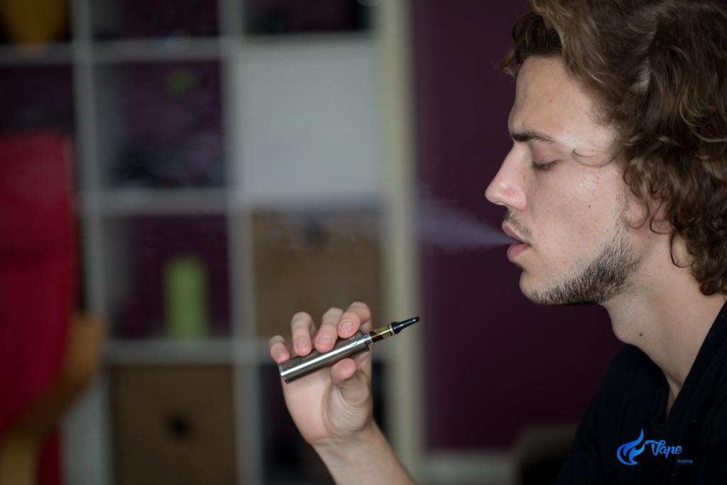 Matt using Vape Pen - vaping cannabis