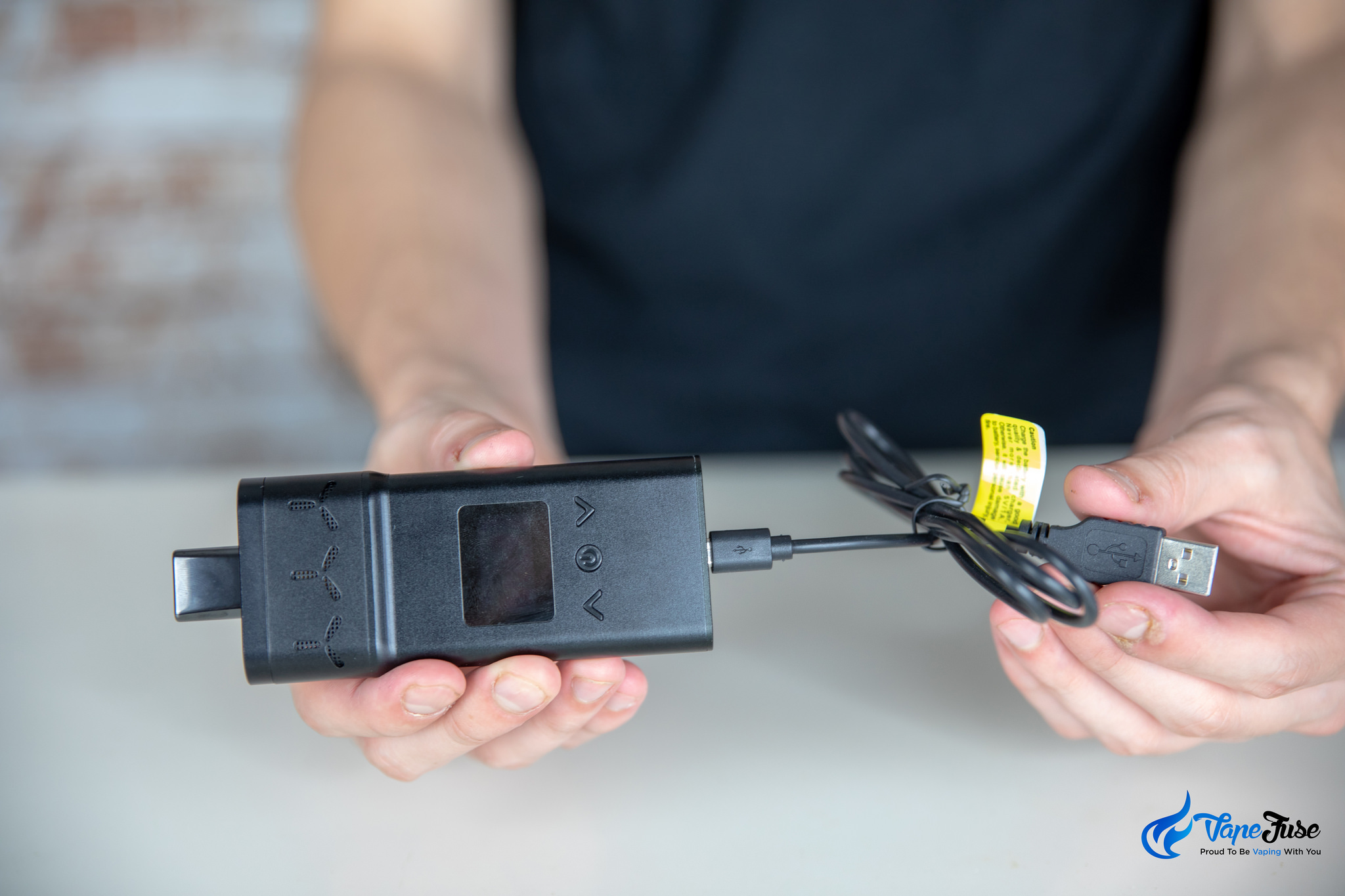 AirVape X charging