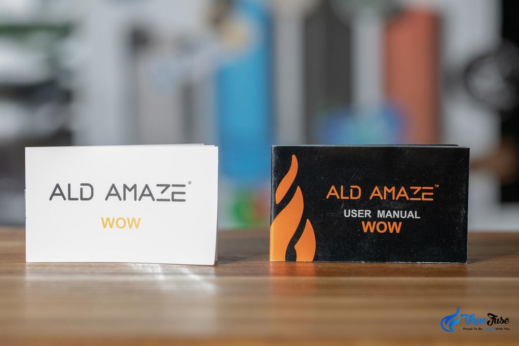 ALD Amaze WOW vs ALD Amaze WOW V2 - user manual