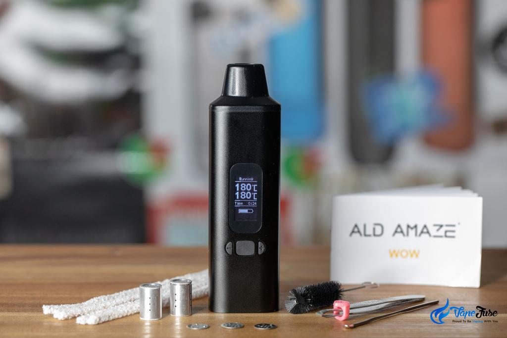 The ALD Amaze WOW V2 Portable Vaporizer Review