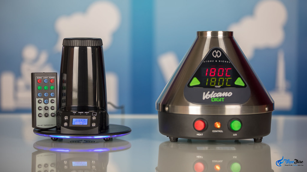 Arizer Extreme Q and Digital Volcano Desktop Vaporizers